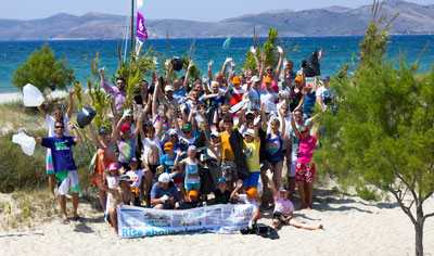 Marmari Beach Clean-Up